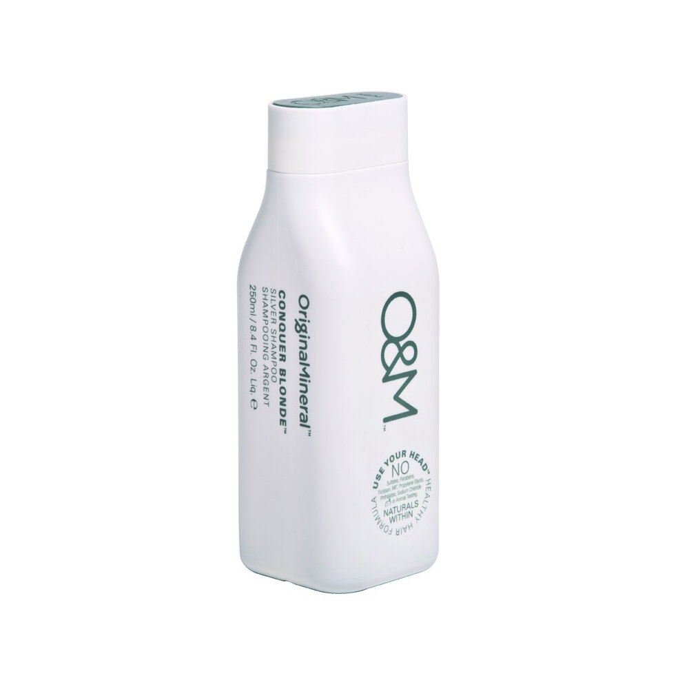 O&M Conquer Blonde Silver Conditioner - 250ml