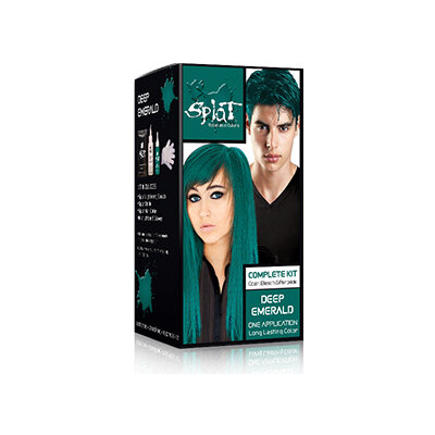 Splat Deep Emerald hårfarve Kit - 86ml