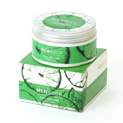 Men Rock Sicilian Lime Shave Cream