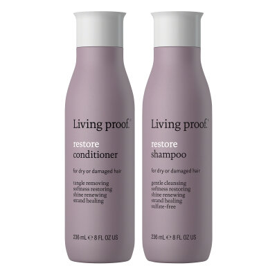 Living Proof Restore shampoo & conditioner