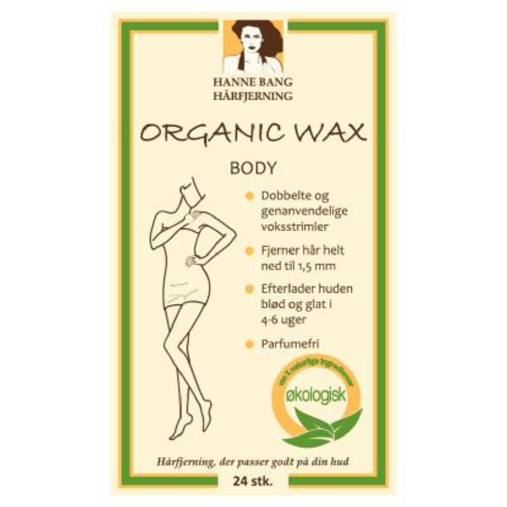 Hanne Bang Organic Wax Body - 24 stk