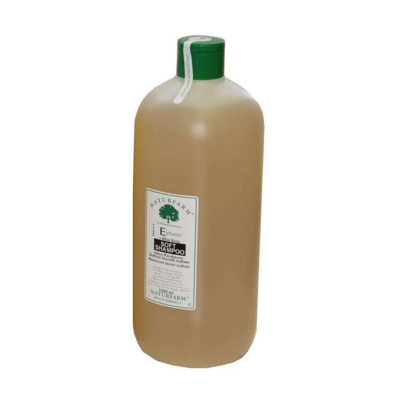 Image of   Naturfarm E-Vitamin & Aloe Vera Shampoo - 1000ml